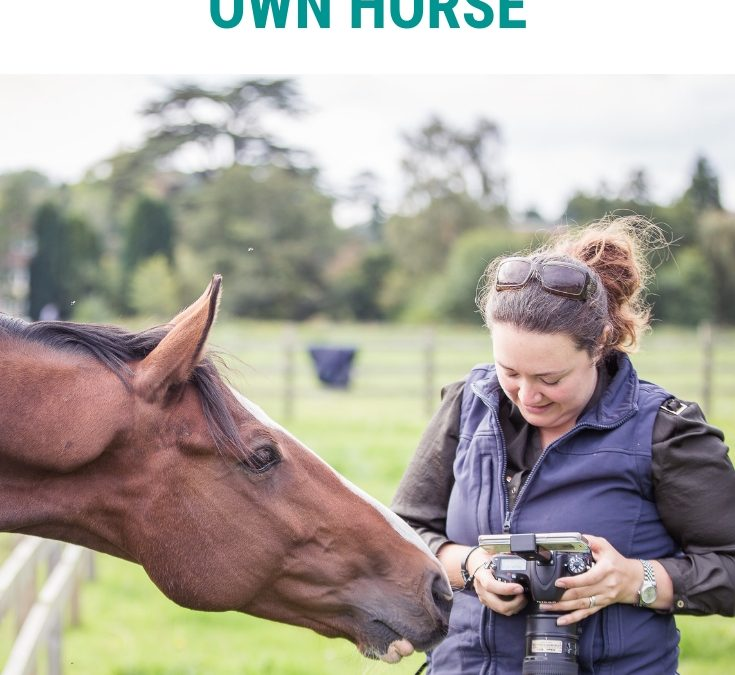 Top tips for photographing your own horse