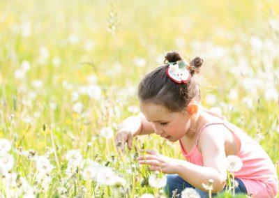 Eliza'sFelt Meadow Hairclip