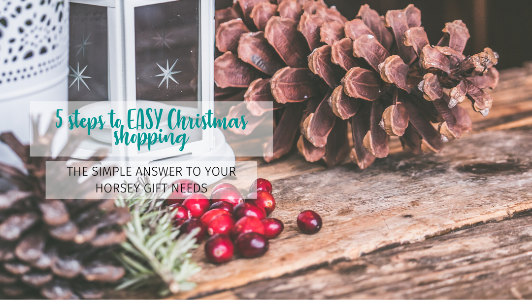 5 steps to horsey Christmas shopping in 2019