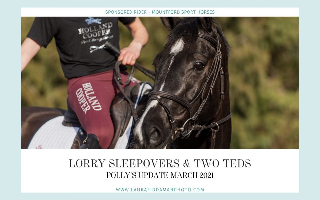 Diary of an Eventer: Lorry sleepovers & two Teds