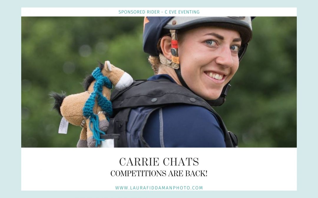 Carrie Chats: Competitions are back!